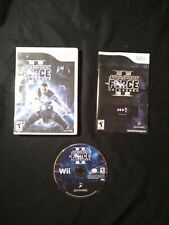Star Wars: The Force Unleashed 2 Nintendo Wii Complete! Cleaned & Tested.