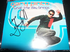 Gary Pinto / CDB What The Day Brings Signed Autographed CD Single