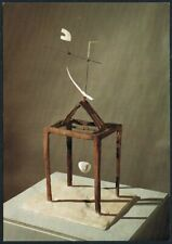 Postcard. Art/Painting. Hour of the Traces. A. Giacometti. Tate Gallery. Unused.