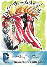 DC Comics New 52 Sketch Card by Iban Coello of Grifter