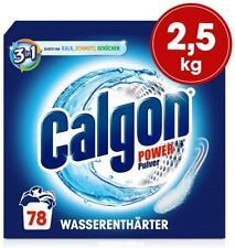 Calgon 3in1 Power Pulver – Wasserenthärter gegen Kalkablagerungen 1 x 2,5 kg