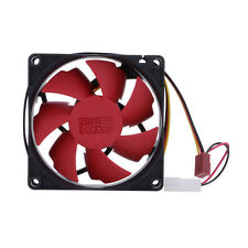 Durable 80mm 2200RPM Silent Computer PC 3 Pin Case Cooling Fan Cooler DC 12V