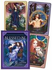 Blessed Be Cards: Mystical Celtic Blessings Card Deck Wiccan Pagan Metaphysical