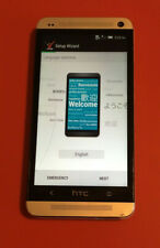 HTC One M7 HTC6500LVW Silver 32GB Verizon Android Smartphone Clean IMEI Reset