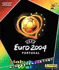 PANINI - FUßBALL  EM 2004 - 10 Sticker aussuchen