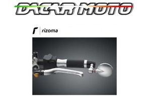 SPECCHIO SPECCHIETTO RETROVISORE BIANCO  PER BMW E YAMAHA RIZOMA BS285A