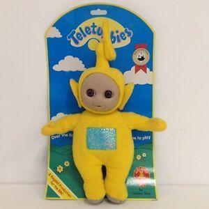 New Teletubbies Laa-Laa Plush Cuddly Toy 36cm H Golden Bear Products Ltd 494146