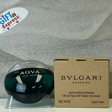 BVLGARI AQVA POUR HOMME MEN by BULGARI EDT Spray 3.4 oz (Tester-No CAP) AQUA