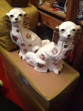 Pair Of Staffordshire Dogs In Good Condition
