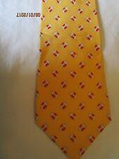 Banana Republic Yellow Life Perserver Silk Neck Tie