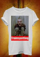 Trainspotting Ewan McGregor Funny Men Women Unisex T Shirt Tank Top Vest 66