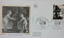 ENVELOPPE PREMIER JOUR - 9 x 16,5 cm - ANNEE 2002 - XX° siècle VIE QUOTIDIENNE