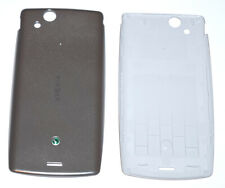 Original Sony Ericsson Xperia Arc S LT18i Battery Cover Silver