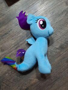 "My Little Pony Plush Rainbow Dash Sea Pony Mermaid 9"""