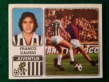 CALCIATORI 1972-73 1973 n 144 JUVENTUS CAUSIO , Figurina Sticker Panini (NEW)