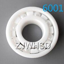6001 Full Ceramic Zirconia Oxide Bearing ZrO2 12 x 28 x 8mm Self-lubricating