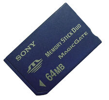 64MB SONY Memory Stick Duo MSH-M64 Standard Made in Japan Older Camera