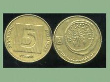 ISRAEL   5 agorot 1987