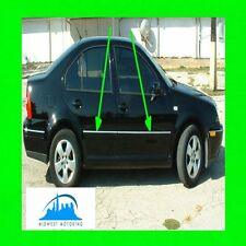 1999 2000 2001 2002 2003 VW VOLKSWAGEN JETTA CHROME TRIM FOR DOORS SIDE 4PC