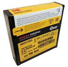 KODAK 50D 16mm Vision 3 7203 Color Negative 100FT *BRAND NEW FACTORY FRESH*