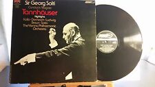 Wagner Tannhauser Solti Vienna Phil. London OS 26299 1G,1G Ted Burket mastering