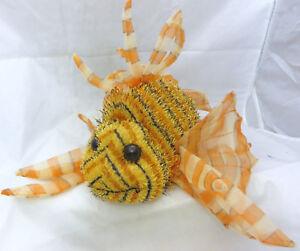 Ganz Webkinz Lionfish Plush HM355 9 inches w/ code