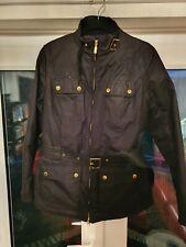 100% Genuine Barbour International Ladies Wax Jacket/Coat Size 10