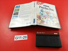 Psycho Fox [w/ Box] (Sega Master System) Tested & Working