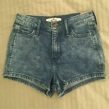 Hollister high rise shorts - size 0