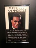 The Best of Nat King Cole Cassette Tape. Ships In 24.