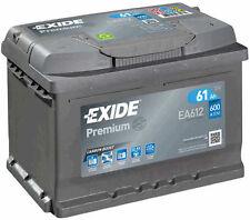 EXIDE Auto Batterie - PREMIUM 61Ah EA612 zzgl. 7,50€ Batteriepfand