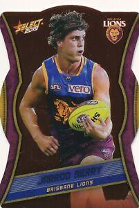 2019 Select Footy Stars Brisbane Lions Red Diecut Choose your Die Cut card