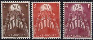 Luxemburg Luxembourg 1957 EUROPA Satz postfrisch MNH** KW:120€