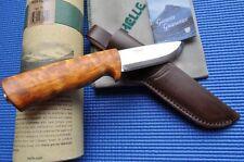 Helle 75 Eggen Gürtelmesser Jagd-Messer Jagdmesser Norwegen 168210  Neu
