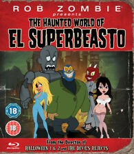 Rob Zombie Presents - The Haunted World Of El Superbeasto Blu-Ray