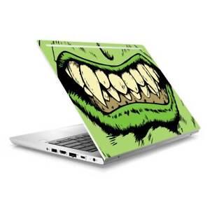 Green Monster Skin Sticker to Cover HP Probook 430 G5 G6 Top Lid Australian Made