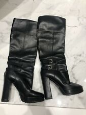 Ralph Lauren Collection Leather High Boots Size 7US