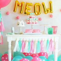 Tissue Paper Tassel Garland Bunting Party Wedding Birthday DIY  Poms Decor New#