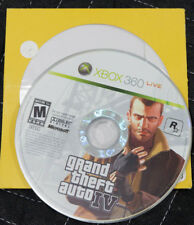 Grand Theft Auto IV (Microsoft Xbox 360, 2010) GTA IV 4 disc only