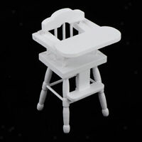1/12 Scale Dolls House Miniature Furniture Accessories Wooden Chair