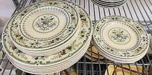 Royal Doulton Provencal English Bone China Plates Choice of 3 dinner ware sizes