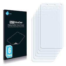 6x protector de pantalla para Blu vivo 4.3 claro recubrimiento protector protector de pantalla