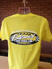 "Team Biland Racing Kart Engine Official Team T-shirt size S approx 38"" chest"