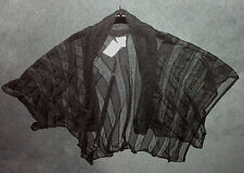 Millers: Size: 10, 12, 14, 16, 18. Modern BLACK Weave Wrap Over-Bathers Cover-Up