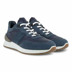 ECCO Astir Laced Men's Sneaker Shoes Marine Sizes EU 42-46 / FREE SHIPPING / NEW
