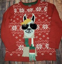 Holiday Time Boys Sweater Llama Ugly 6 7 Guc