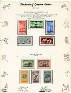 PANAMA-- Lot of 39 different stamps and Souvenir Sheets