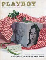 PLAYBOY DECEMBER 1957 Linda Vargas Lisa Winters Hugh Hefner interview D-CF