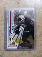 10-11 Panini Pinnacle NUFEX Rink Collection J. SKINNER