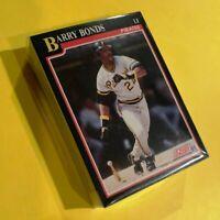 50) BARRY BONDS Pittsburgh Pirates 1991 Score Baseball Card #330 LOT